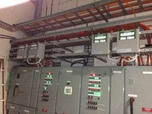 Power factor installed at a Mushroom farmer