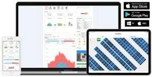 business solar power monitoring