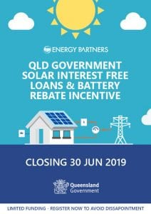 queensland government battery grant