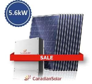 canadian solar 5.6kW
