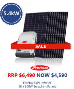 fronius inverter seraphime solar panel