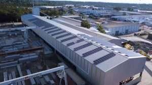 precast concrete solar