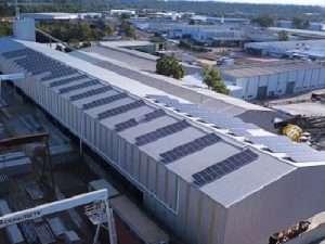 100kW solar install